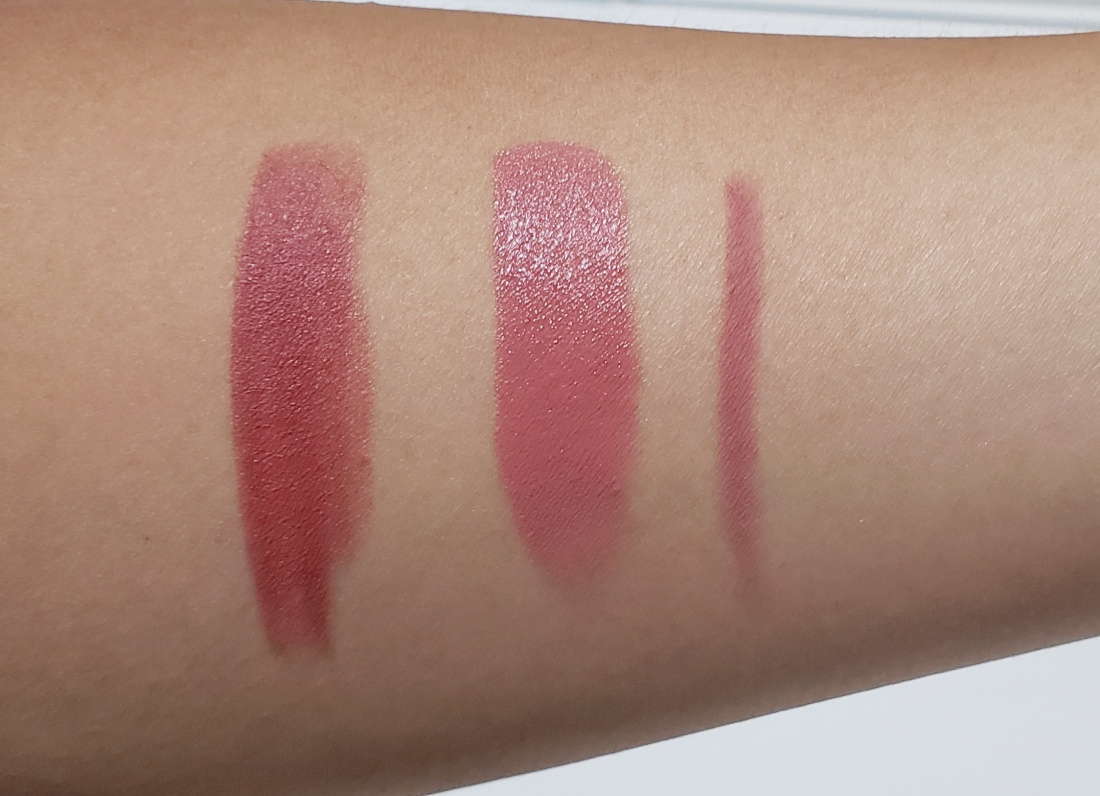 Charlotte Tilbury The Pretty Pink Lipstick swatches